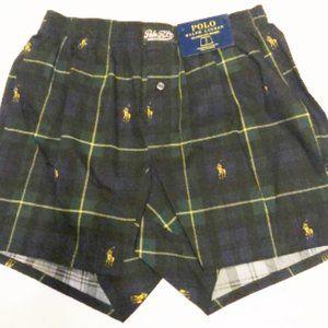 Boxers mens new size S cotton Polo Ralph Lauren